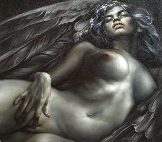 Спящий Тёмный Ангел